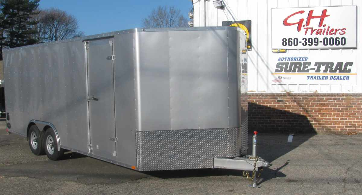 INTEGRITY TRAILERS TL-8x20-TV  *Commercial Grade* 8.5 ft x 20 ft